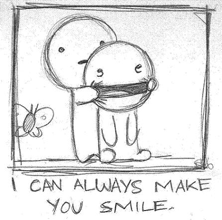 i can always make you smile - Be Happy