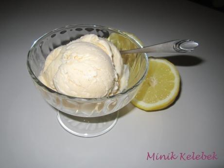 Süt Reçelli Dondurma 1